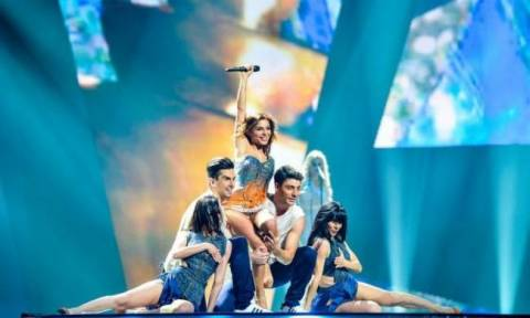 Eurovision 2012: Τα έδωσε όλα η Ελευθερία Ελευθερίου
