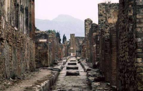 Η Πομπηία στο έλεος της βροχής και της αμέλειας