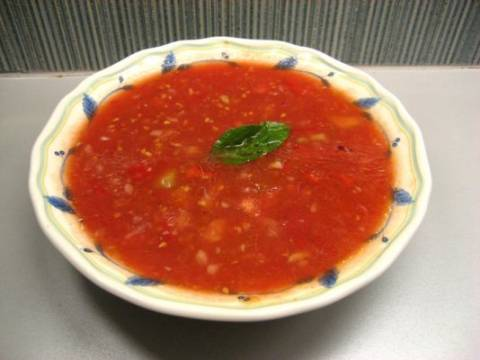 Σούπα από κρέμα τομάτας