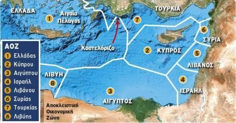 Κοινό μέτωπο Ελλάδας-Ισραήλ εναντίον Τουρκίας για ΑΟΖ