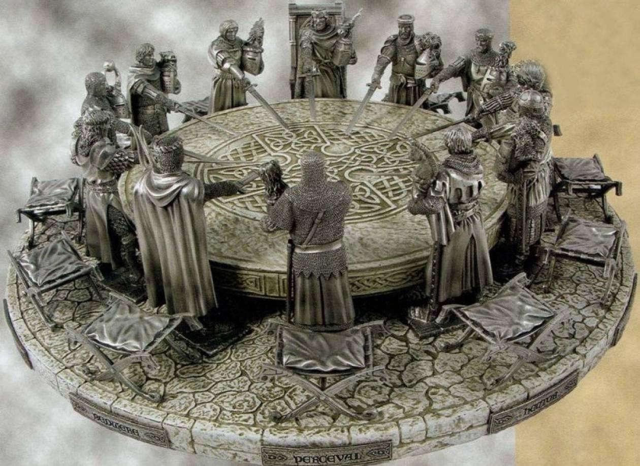 Πού κρύβεται η «στρογγυλή τράπεζα» του βασιλιά Αρθούρου;
