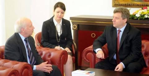Λύση στο Σκοπιανό ζητά ο πρόεδρος της ΠΓΔΜ