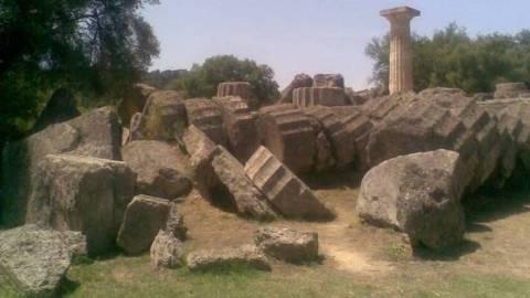 Όταν η Αρχαία Ολυμπία χτυπήθηκε από δυνατό τσουνάμι!