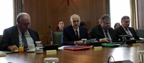 Συνεδριάζει το υπουργικό-«Τρέχει» η κυβέρνηση