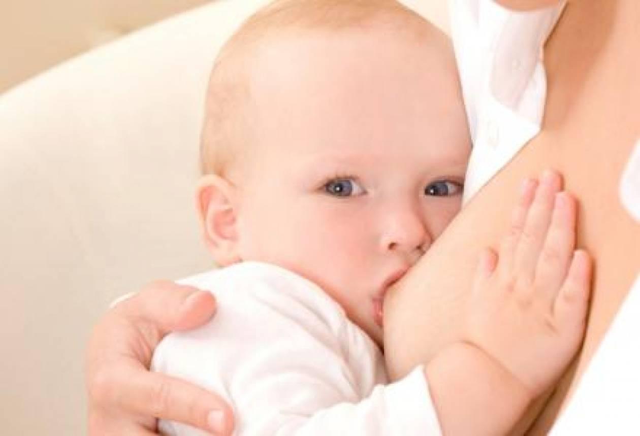 Ευεργετικός ο θηλασμός για μητέρα και παιδί