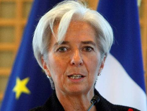 Κ.Λαγκάρντ: Σίγουρη για τη διάσωση της Ελλάδας