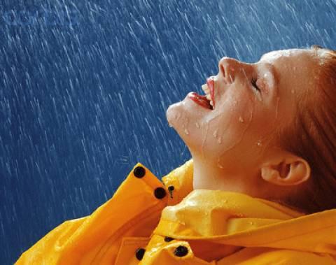 Τι σχήμα έχουν οι σταγόνες της βροχής;