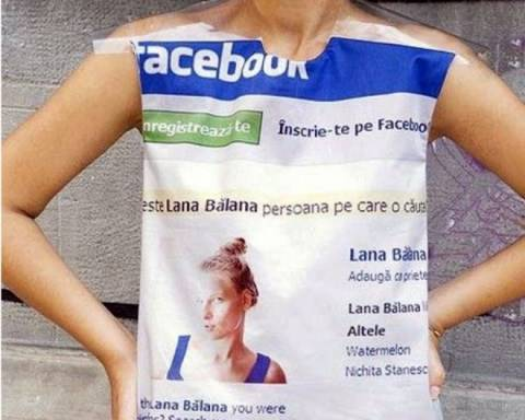 Το Facebook τώρα και σε φόρεμα!