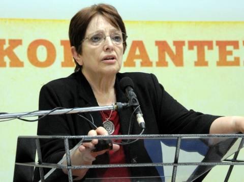 Παπαρήγα: Δεν υπάρχει φάρμακο για την κρίση του καπιταλισμού