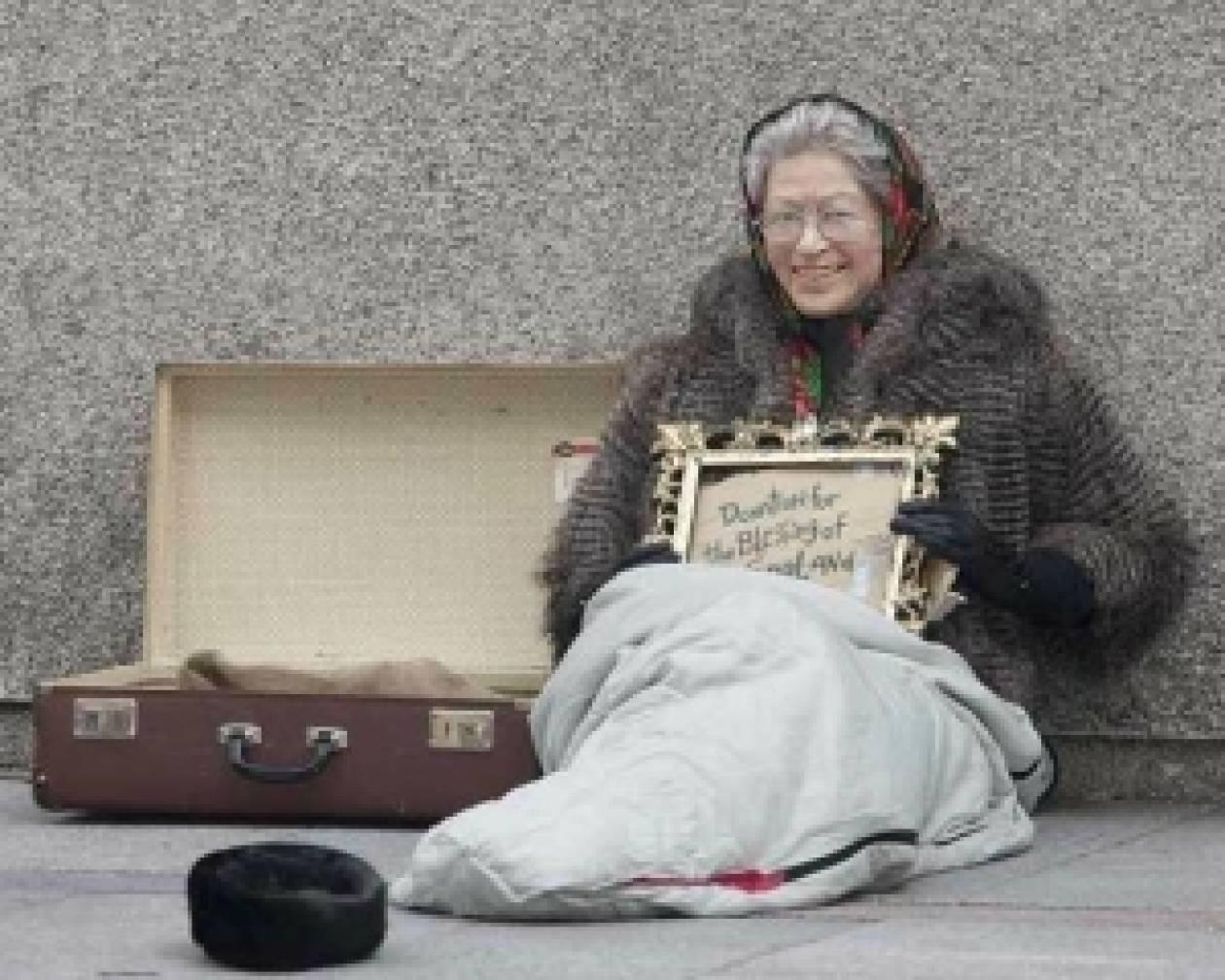 Η Βασίλισσα Ελισάβετ… ζητιανεύει!