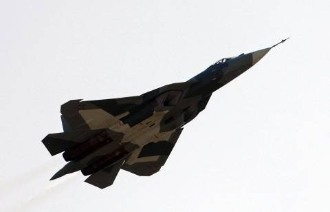 Πρώτη δημόσια εμφάνιση του νέου μαχητικού της Ρωσίας