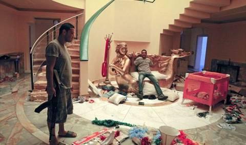 Το παλάτι του Καντάφι «καλωσόρισε» τους εξεγερμένους