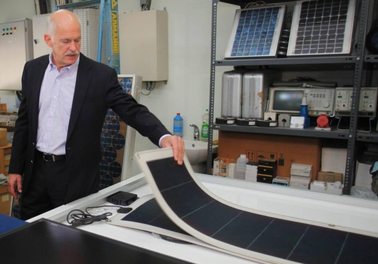 Γ. Παπανδρέου: Κεντρική πολιτική μας οι ανανεώσιμες πηγές