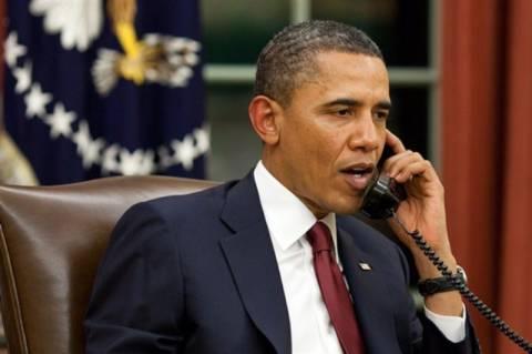 Τηλεφωνική επικοινωνία Ομπάμα - Λανγκάρντ