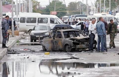 Τέσσερις νεκροί από βομβιστική επίθεση στο Γκρόζνι