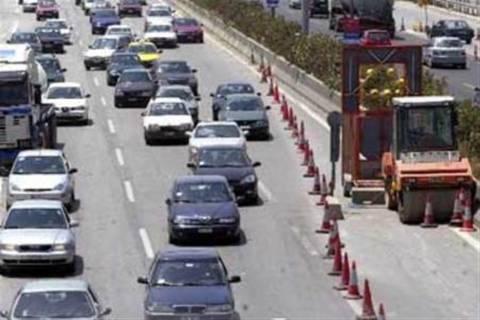 Διακοπές κυκλοφορίας στην ΕΟ Αθηνών-Πατρών