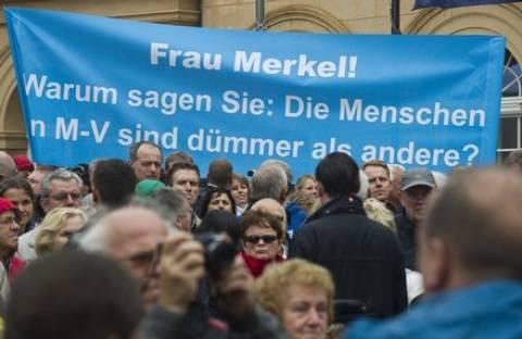 Η Μέρκελ «χάνει» στην εκλογική της περιφέρεια