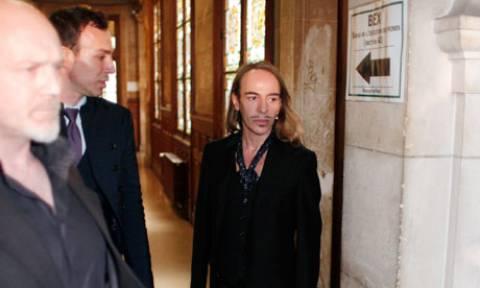 Ένοχος ο Γκαλιάνο για αντισημιτική συμπεριφορά