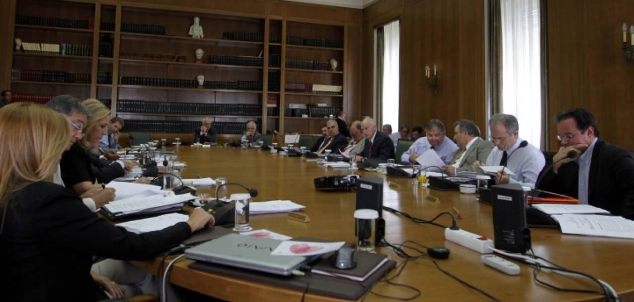 Έκτακτη συνεδρίαση της κυβερνητικής επιτροπής