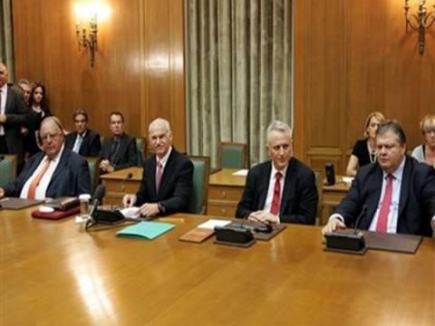 Η προετοιμασία του Eurogroup στην κυβερνητική σύσκεψη