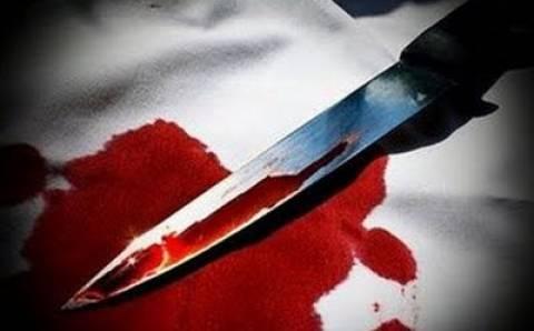 Έλυσε τις διαφορές του με μαχαίρι
