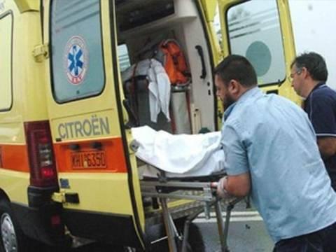 Βουτιά θανάτου για 50χρονη στη Λάρισα