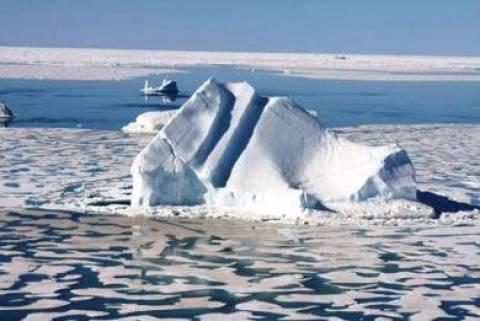 Νέα μεγάλη μείωση των πάγων της Αρκτικής!