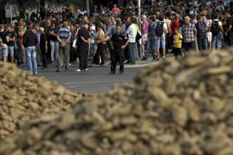 Συνεχίζεται η ένταση στο βόρειο Κόσοβο