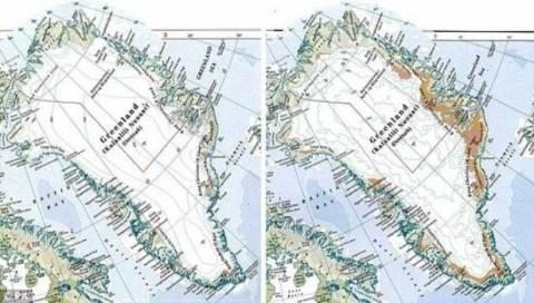 Νέα νησιά δημιουργούν οι κλιματικές αλλαγές