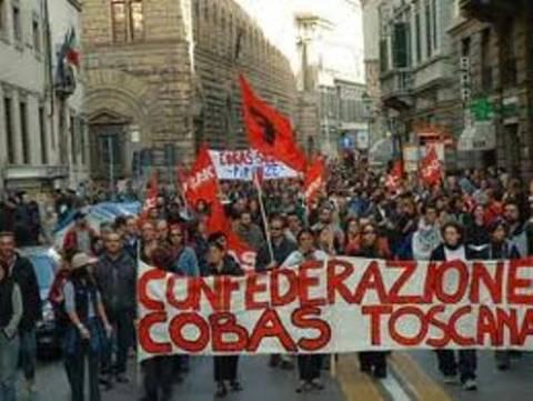 Ιταλία: Διαδήλωση αριστερής οργάνωσης μπροστά από την ελληνική πρεσβεία