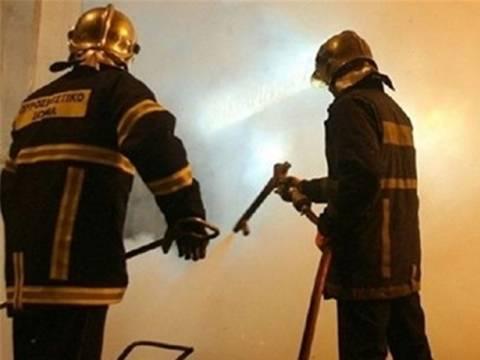 Πυρκαγιά σε ανθοπωλείο στον Άγιο Δημήτριο