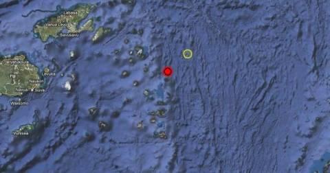 Σεισμός στα νησιά Φίτζι