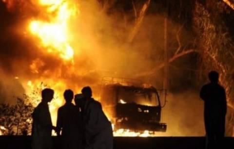 Φωτιά σε τροχόσπιτα στην Κρήτη