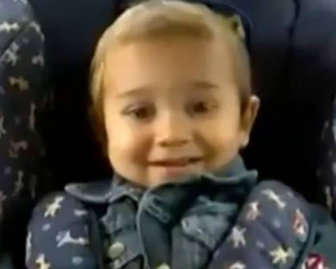 Το μωρό που «τρελαίνεται» για Led Zeppelin