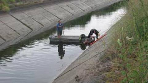 Νεκρός άνδρας σε αρδευτικό κανάλι