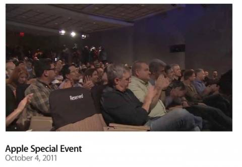 H άδεια καρέκλα στο «Let's Talk iPhone»