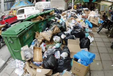 Αθήνα, η πρωτεύουσα των σκουπιδιών