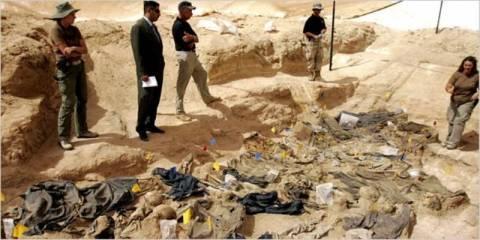 Ομαδικός τάφος με 940 πτώματα στο Ιράκ