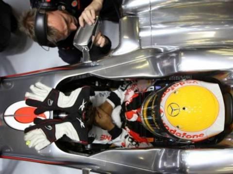 F1 Χάμιλτον: Δεν έβλεπα τίποτα από τους καθρέπτες