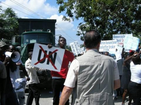 Ο ΟΗΕ αποσύρει δυνάμεις από την Αϊτή