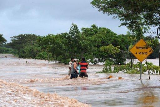 HONDURA-FLOODS
