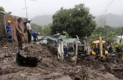 Φονικές καταιγίδες στην Κεντρική Αμερική