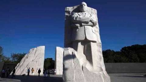 Αποκαλυπτήρια νέου μνημείου για τον Μάρτιν Λούθερ Κίνγκ