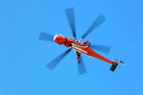 Ελικόπτερο αναστάτωσε τη Σύμη
