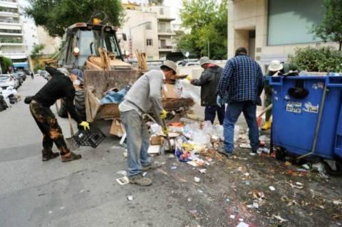 Αλαλούμ με τα σκουπίδια και την επιστράτευση