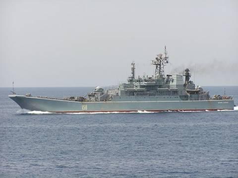 Ρωσικό αρματαγωγό στην Πύλο