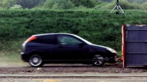 Το γρηγορότερο crash test!