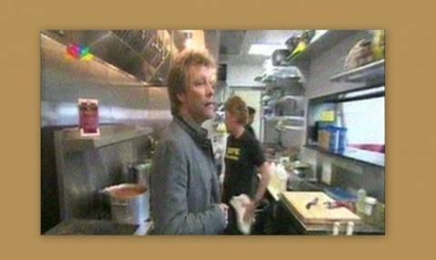 Ο εστιάτορας Jon Bon Jovi