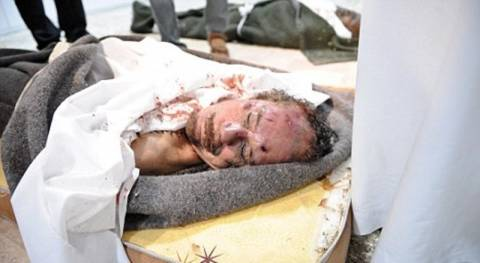 Σε μυστική τοποθεσία έγινε η ταφή του Καντάφι