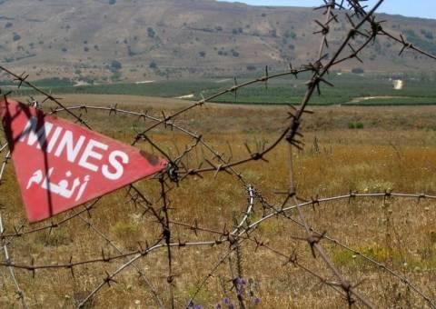 Νέα ναρκοπέδια στα σύνορα Λιβάνου-Συρίας